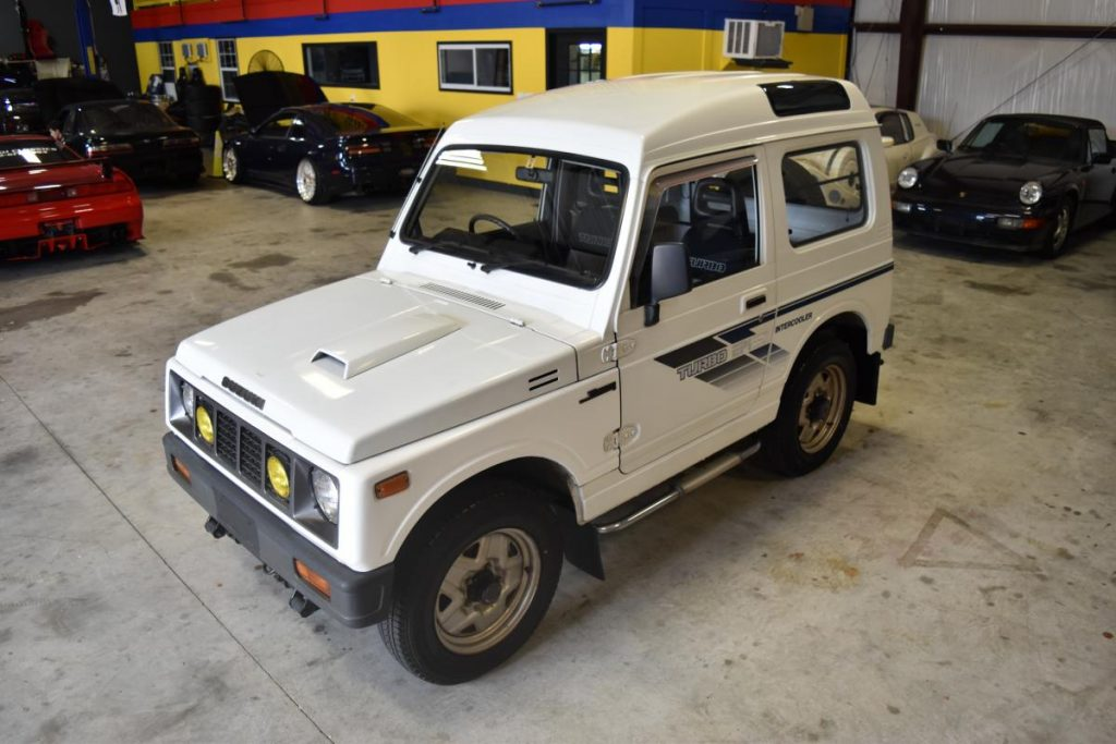 1988 suzuki jimny turbo 4x4 shinku classics. Black Bedroom Furniture Sets. Home Design Ideas